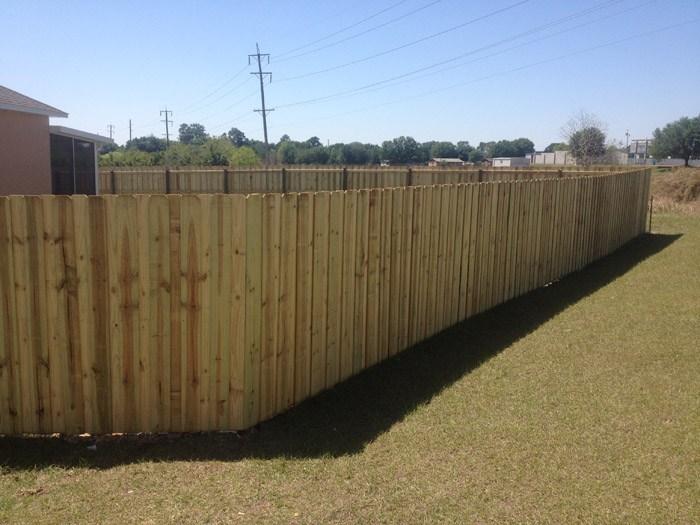 Wood Fencing Fence Central Winter Haven Fl