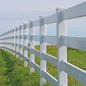 vinyl/PVC fence