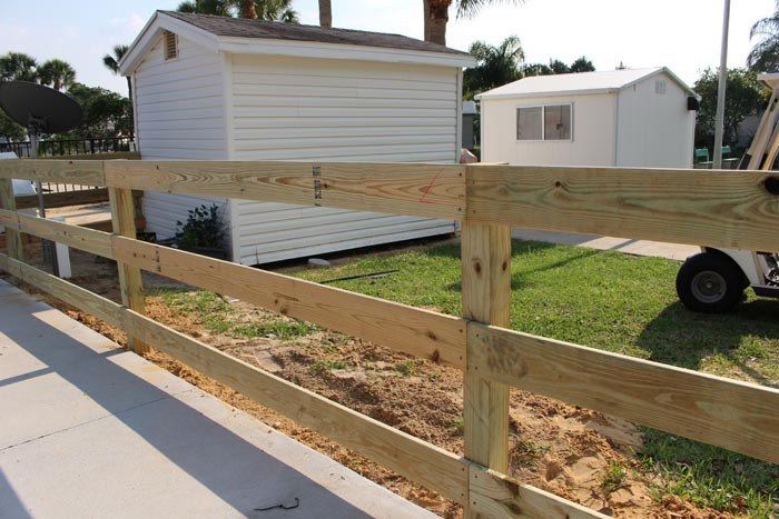 Wood Fencing Fence Central Winter Haven Fl