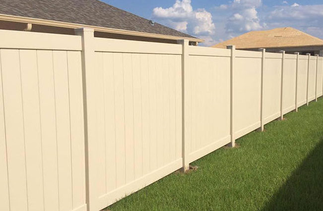 Fence Central Vinyl Style