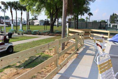 Wood Ranch Rail fence