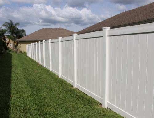 Davenport & Haines City;  Why Add A Vinyl Fence To Your Property?